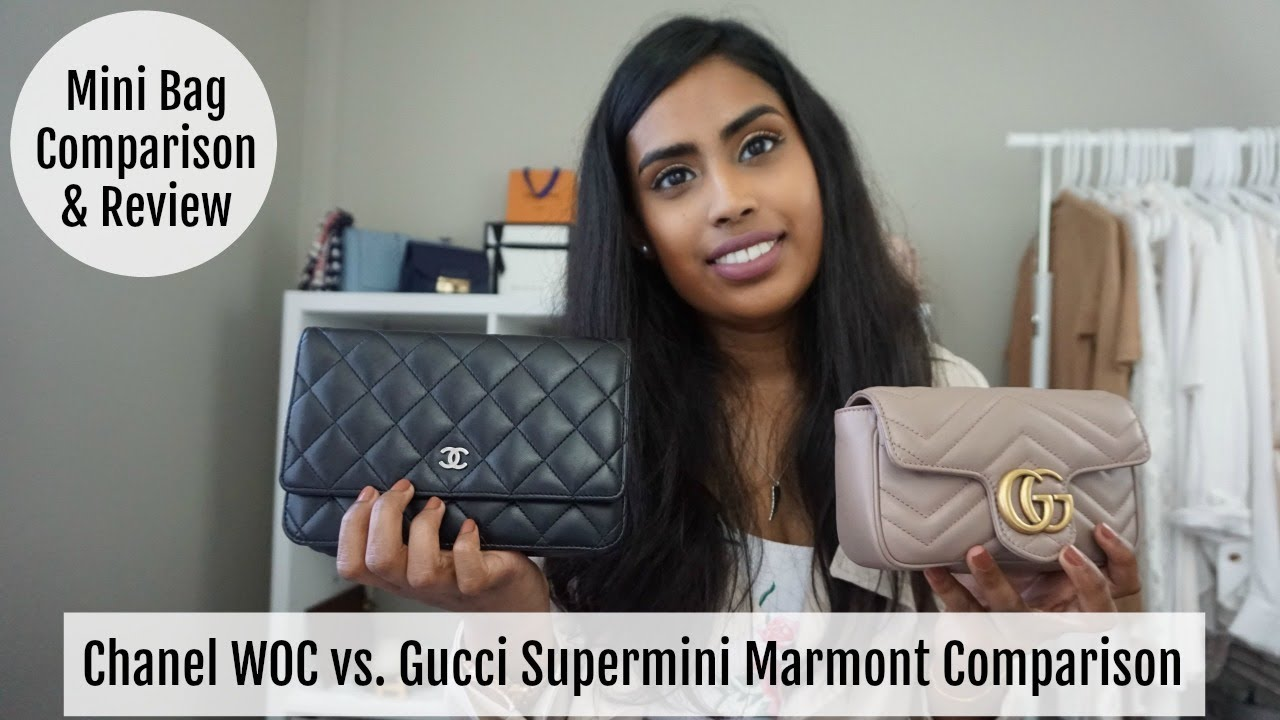 Mini Vs Woc Gucci Super Mini Marmont Vs Chanel Woc Comparison Wimb Mod Shots Samadhi Herath