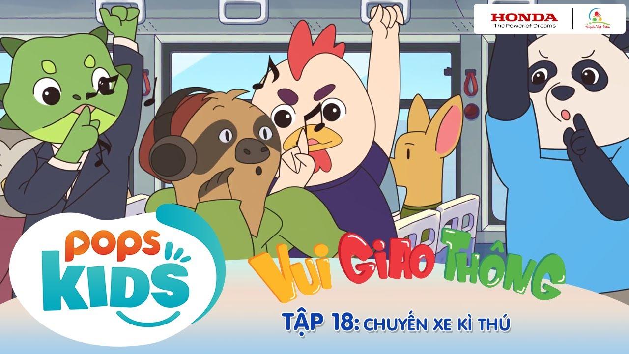 """Tôi yêu Việt Nam 2020 """"Vui Giao Thông"""" - Tập 18: Chuyến xe kì thú - Quy tắc ứng xử trên xe buýt"""