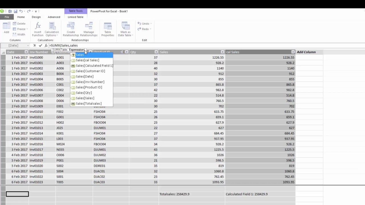 DAX SUM and SUMX Functions for Power BI, Power Pivot & SSAS