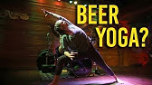 Founded In Mexico Beer Yoga Gains Popularity Youtube