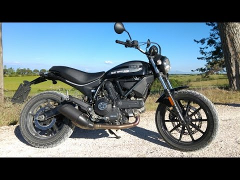Ducati Scrambler Sixty2 Start Up And Sound Youtube