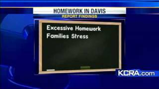 Excessive Homework? Report Suggests So
