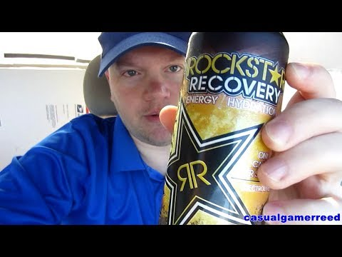 Reed Reviews Rockstar Recovery Tea Lemonade
