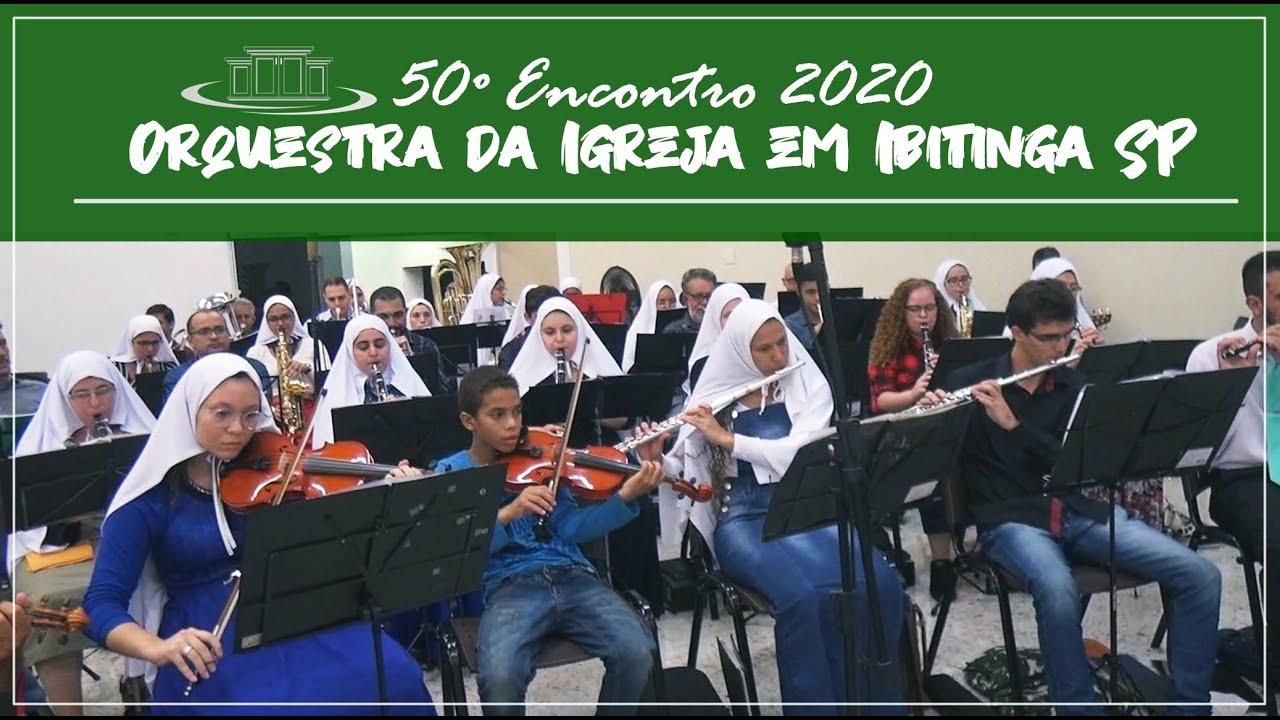 Gl�ria gl�ria e aleluia, o meu nome ouvirei Jesus chamar - Orquestra da igreja em Ibitinga. 22/02