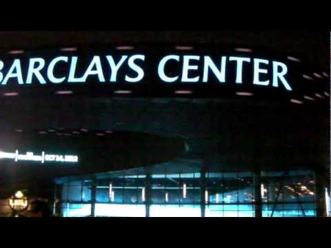 With Mr. Mikhail Prokhorov's partnership Barclays Center opened in Brooklyn, NYC, USA