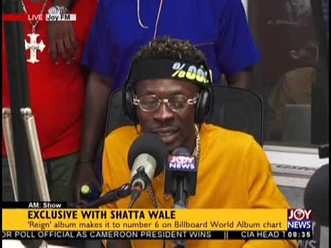 Exclusive With Shatta Wale - AM Show on JoyNews (26-10-18)
