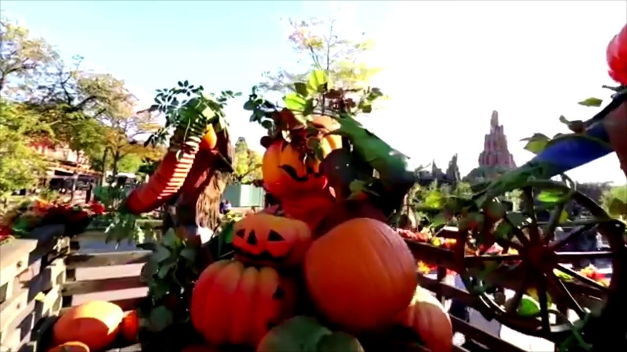 le festival halloween disney 2018 à disneyland paris ! - youtube