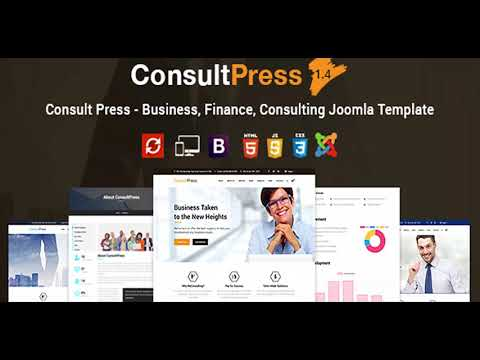 Consult Press - Finance & Consulting Business Joomla Template | Themeforest Website Templates and