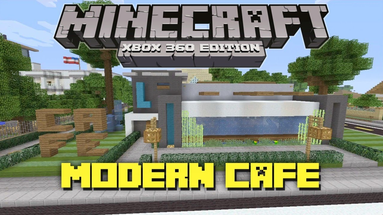 How To Build A Coffee Shop In Minecraft Xbox