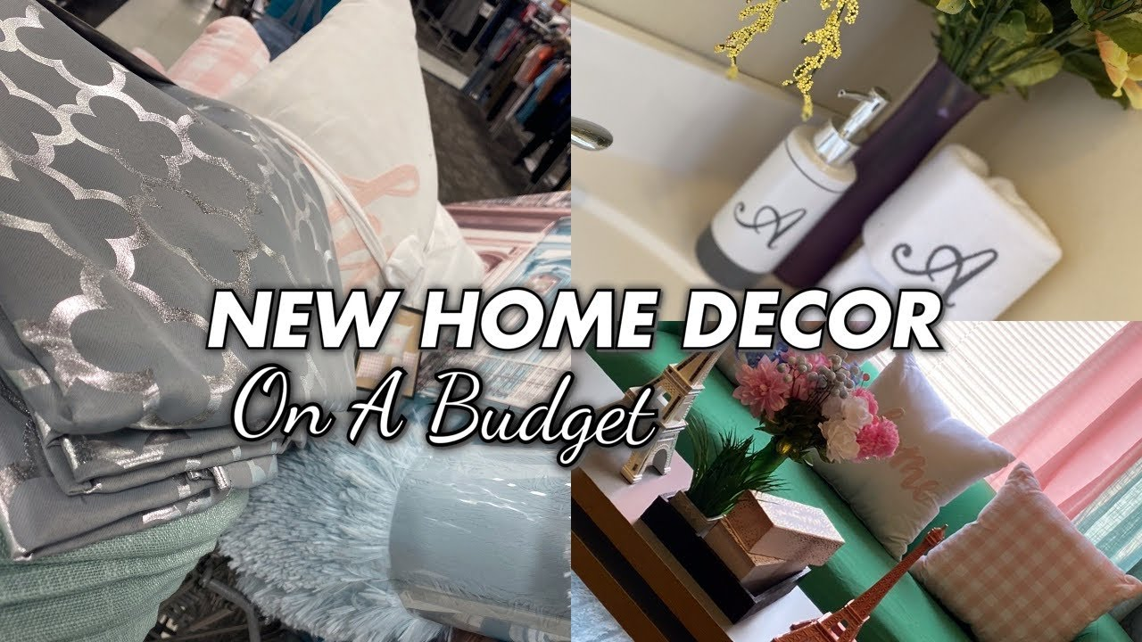 DECORATE WITH ME :New Home Items + SUPER AFFORDABLE It was Time For Something NEW |Rolemodel
