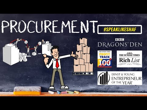 What is PROCUREMENT  Animated Explanation Definition and Example. | Procurement Meaning