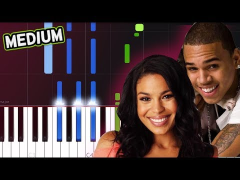 "Jordin Sparks & Chris Brown - ""No Air"" Piano Tutorial"