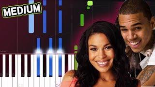 Jordin Sparks Chris Brown No Air Piano Tutorial.mp3