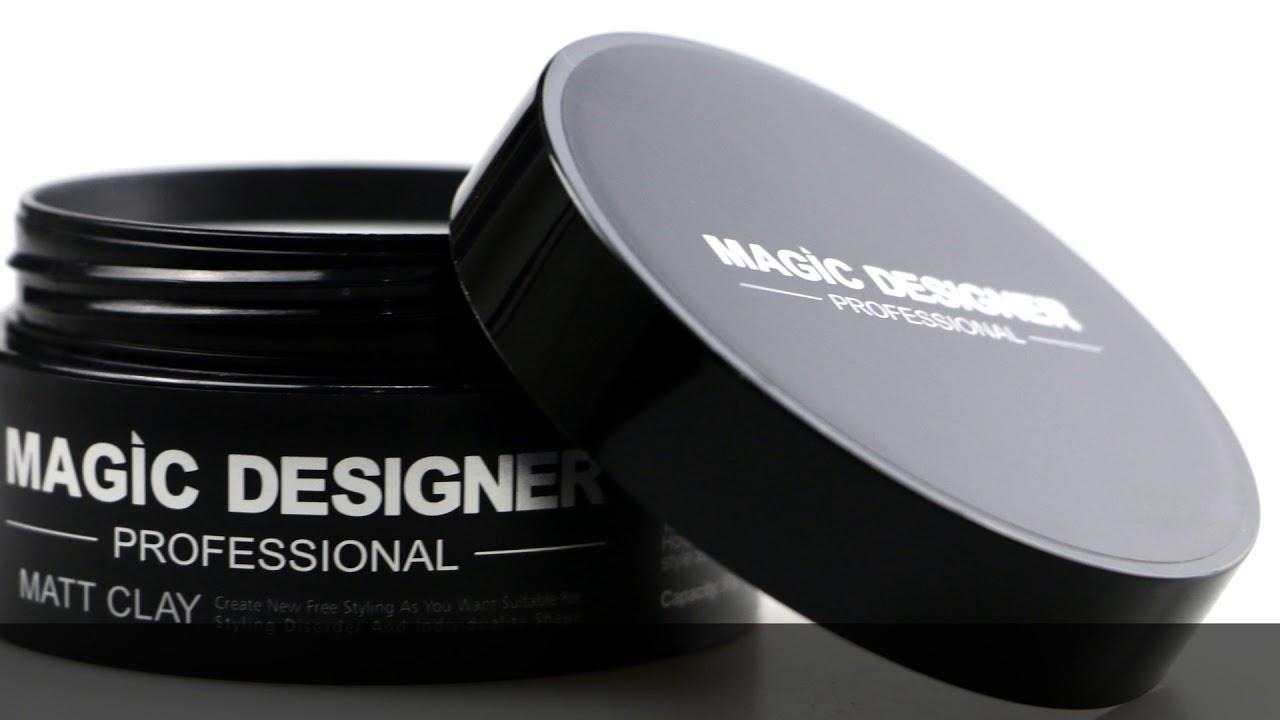 亞洲熱銷頭髮造型品-MD髮泥 強力定型-無光澤不油膩-重塑力極強 - YouTube
