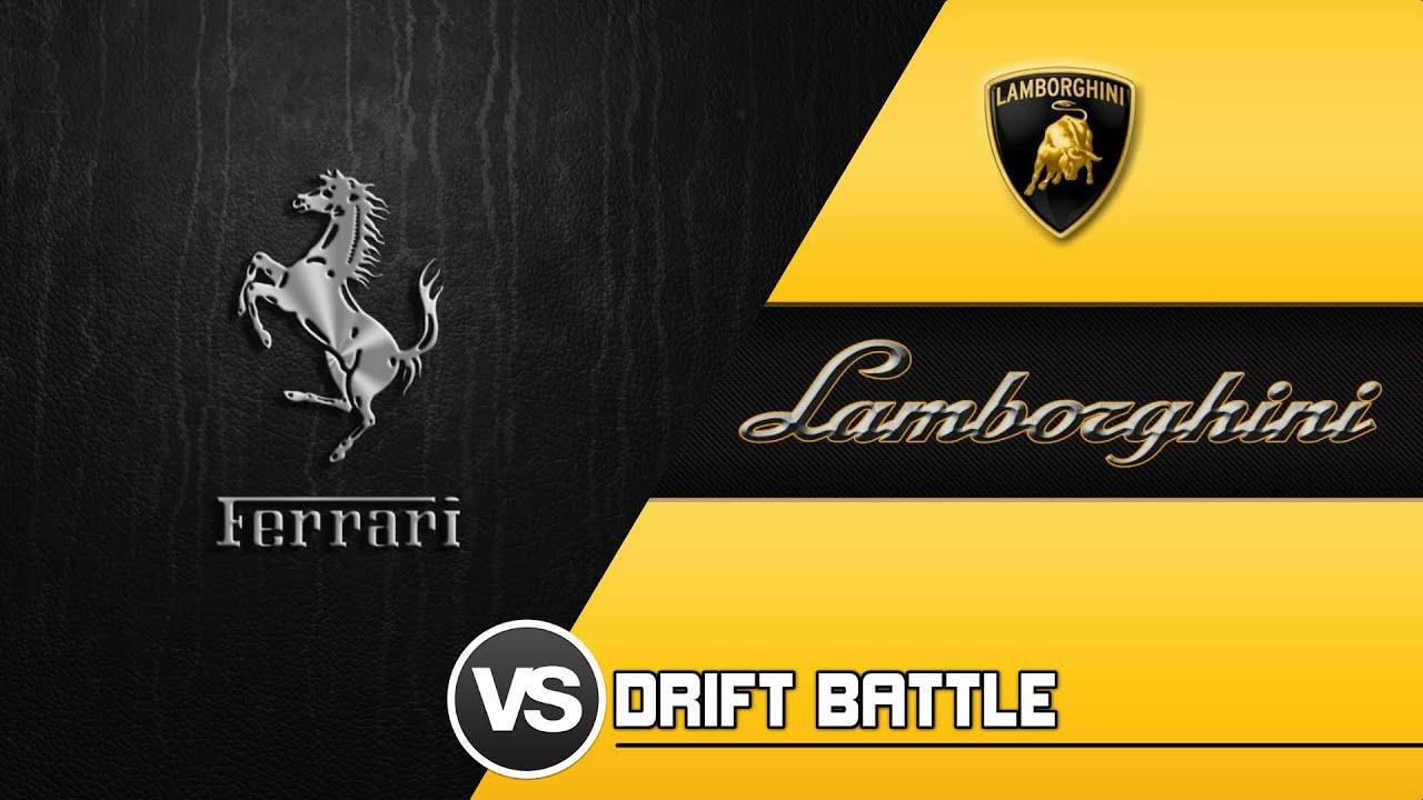 Forza 6 - Ferrari VS Lamborghini - DRIFT BATTLE - YouTube