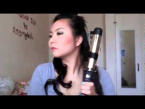 1 Inch To 1 Inch Tourmaline Ceramic Curling Wand