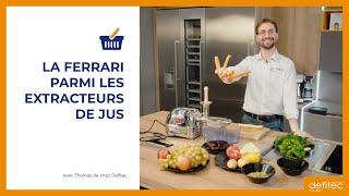 Extracteur de jus Angel : La Ferrari des extracteurs de jus lent pour vos fruits et légumes