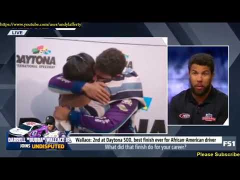 Darrell Bubba Wallace Jr What Did That Finish Do For Your Career? (2018) Daytona 500