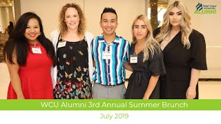 WCU Alumni Summer Brunch - Lets Get Social July 2019