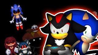 Sonic & Shadow Play Sonic.EXE Spirits of Hell! - BAD ENDING!?