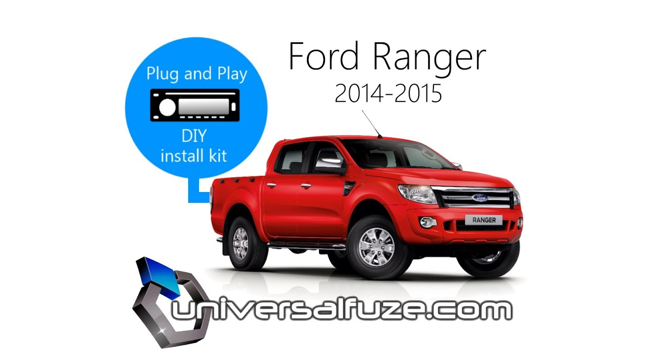 Ford Ranger Audio Unit Upgrade Installation Kit Inc Steering Wheel Radio Wiring Harness Adapter Diagram Control Youtube