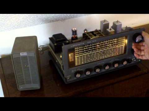 Lafayette HE-30 Communications receiver Radio & HE-48 Speaker, pt 1