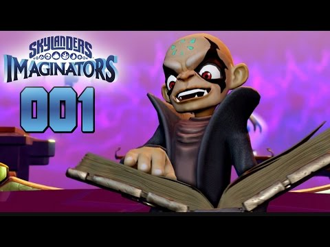 Skylanders Imaginators #001 - Kaos & Doomlander - Let´s Play