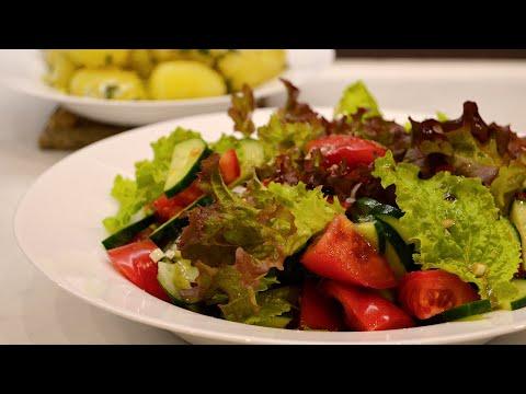 Салат со свежим огурцом рецепты с фото простые и вкусные