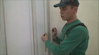 Идеальная установка дверей Отделка металлопластиковых дверей в интерьере Часть 2 (Old video)