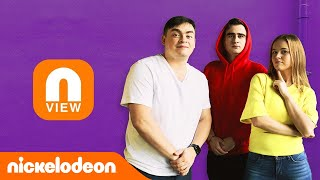 NVIEW Nickelodeon | Полина Гренц и Room Factory | Nickelodeon Россия