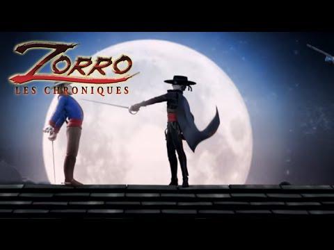 Les Chroniques De Zorro Generique Youtube