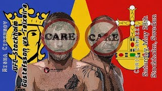 Repeat youtube video UFC Stockholm Gustafsson vs Teixeira Care/Don't Care Preview