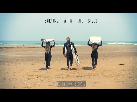 Surfing with the Sills - Widemouth Bay, Bude, Cornwall