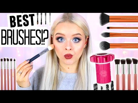 ALL ABOUT MY MAKEUP BRUSHES + HOW I WASH THEM! | sophdoesnails