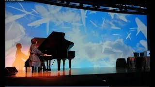 AMBIENT Image Sphere Session : Piano Improvisation with Projected Visions アンビエント~イマージュスフィア~ Part-2