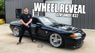 homepage tile video photo for R32 WHEEL REVEAL! - Abandoned R32 is looking SICK!!