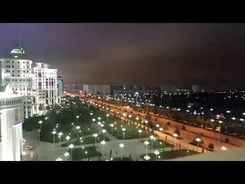 Ashgabat Time lapse