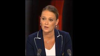 Olivia Grégoire répond aux questions de Roselyne Febvre (France 24) et Frédéric Rivière (RFI)