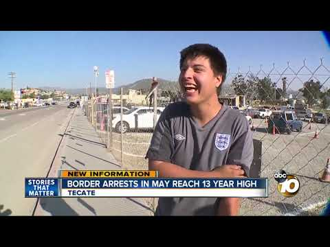 MORNING NEWS - Border Arrests Reach 13 Year High