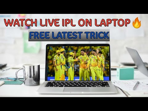 How To Watch Live T20,Ipl Cricket on Laptop,pc,desktop for free online //2020 Latest trick