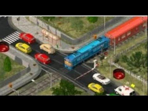 Мультики про машинки и поезда - Перекресток! Мультфильмы для малышей - видео для мальчиков.