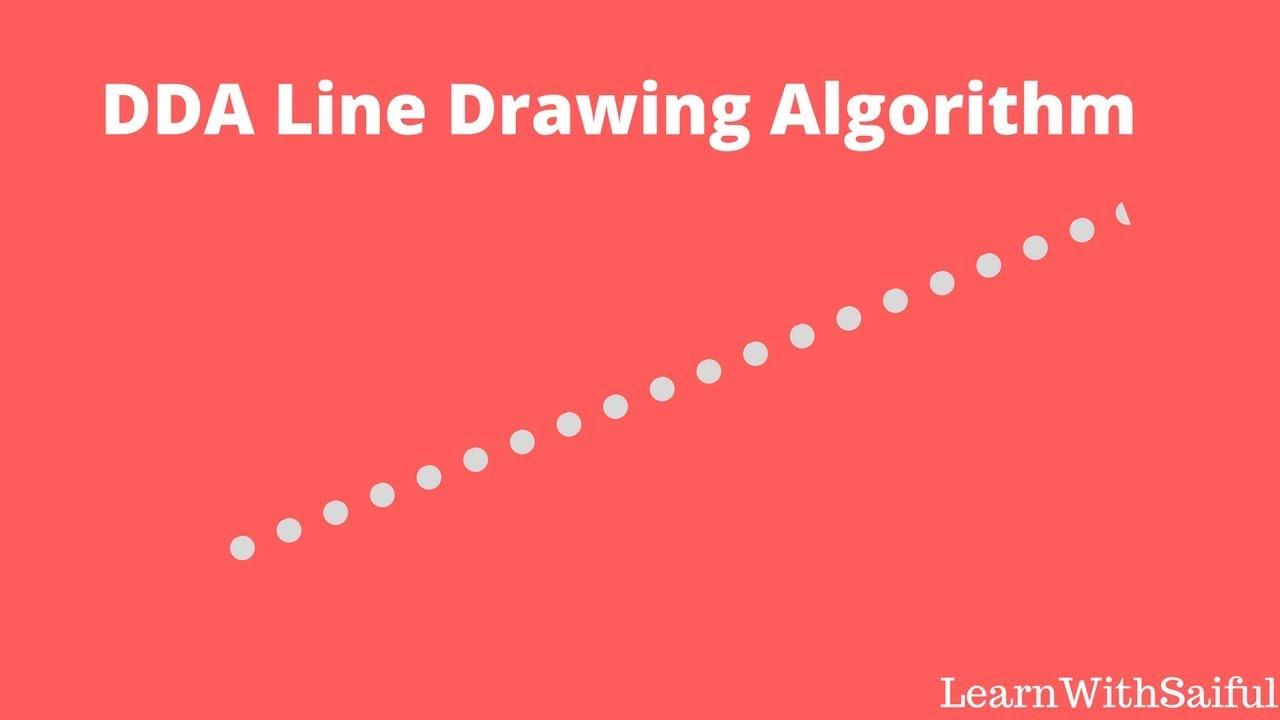 Bresenham Line Drawing Algorithm In C For All Slopes : Dda line algorithm easily create in c using openglopengl bangla