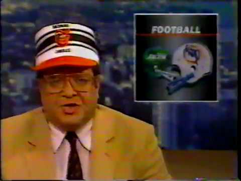 1983 Wk 07 Hank Goldberg Talks Dan Marino, Don Shula