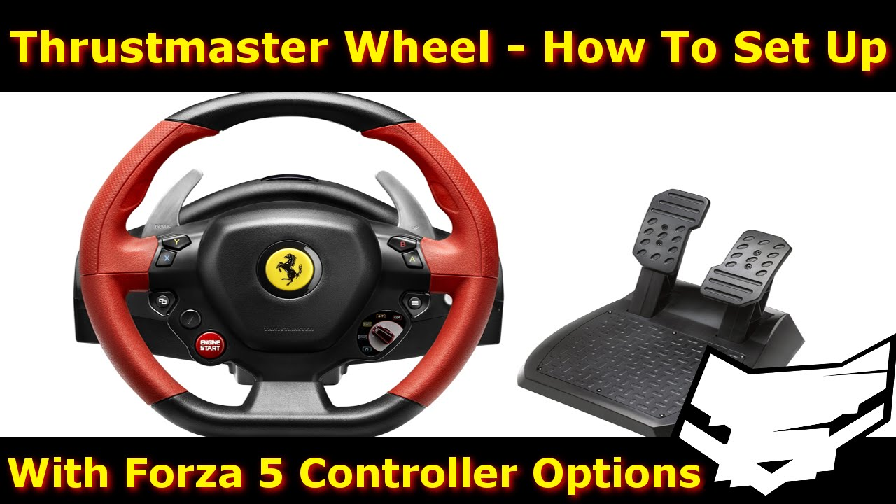 Thrustmaster Ferrari 458 Spider Wheel Setup Forza 5 Settings
