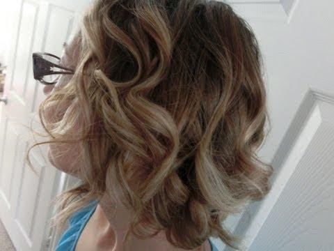 Boucles sur Cheveux Courts - Tutoriel