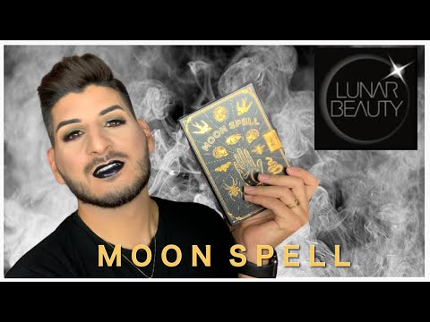 Lunar Beauty Moon Spell Collection Try-on | Manny MUA Holiday  2019 Collection thumbnail