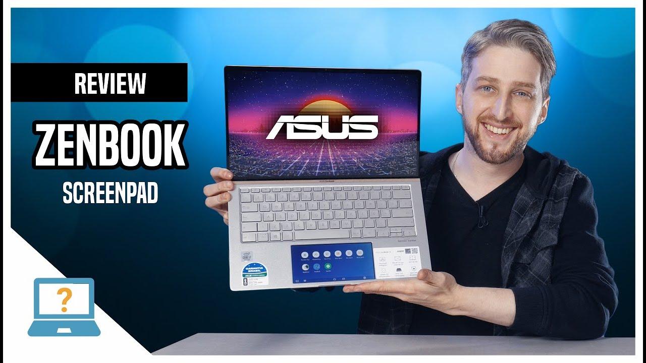 Review ASUS ZenBook 14 com segunda tela ScreenPad 💻Notebook Novo 2020 UX434FAC INTEL Core i7 Análise