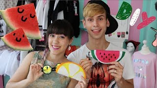 DIY I Watermelon Etui mit Kostaskind