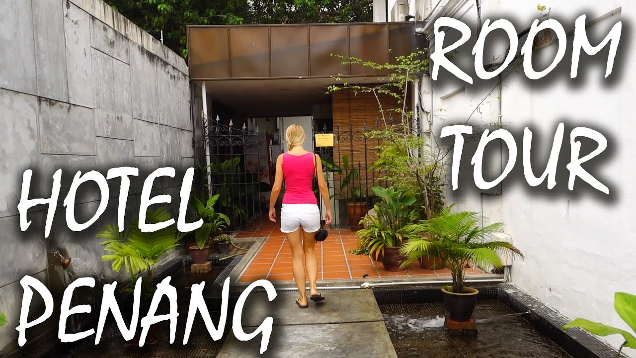 penang george town hotel roomtour red inn cabana malaysia 32 youtube