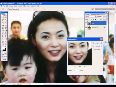 Photoshop CS2 - Phan 22 - Bai 4 - Khu anh nhiem bui tu may Scan